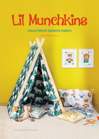 Lil Munchkins Collection by Warwick Fabrics