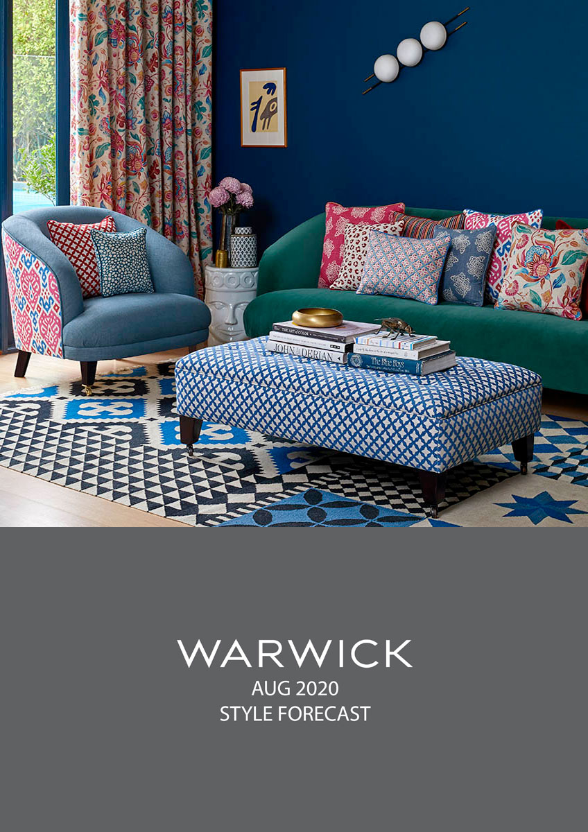 Warwick Fabrics - August 2019 Product Release