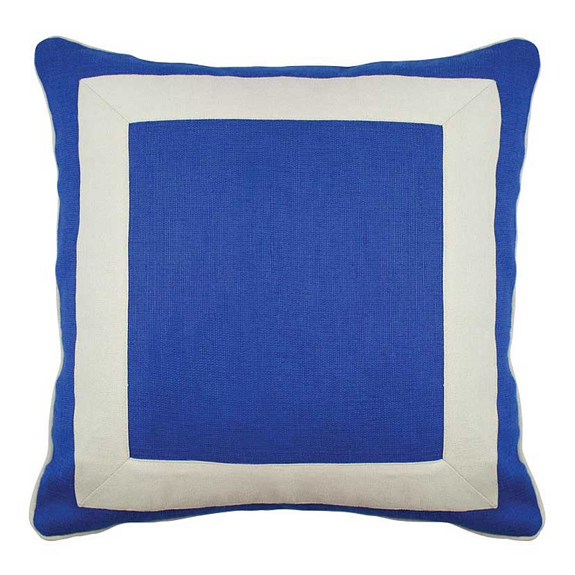 Navy Squared Cushion - 45x45cm
