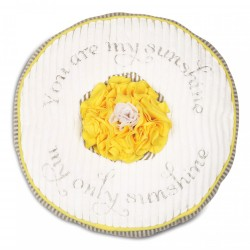 Round Pillow - Sunshine