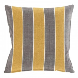 Awning Stripe Gold Cushion - 45x45cm