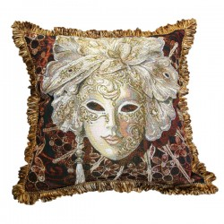 Carnival Day Tapestry Cushion - 50x50cm