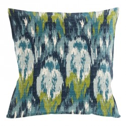 Ikat Craze Birch Frost Cushion - 45x45cm