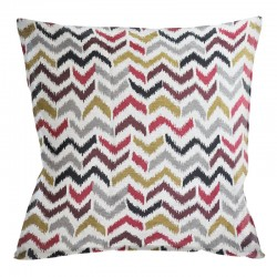 Chevron Mahogany Cushion - 45x45cm