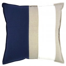 Newport Navy Cushion - 50x50cm