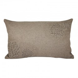 Donegal Taupe Cushion - 30x50cm