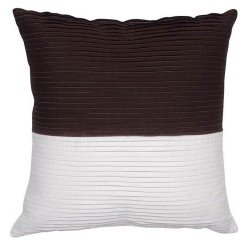 Dip-Dyed Chocolate Cushion - 45x45cm