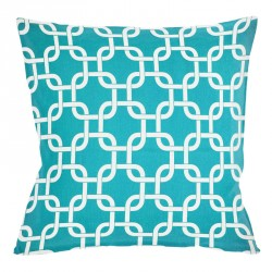 Gotcha True Turquoise Cushion - 45x45cm