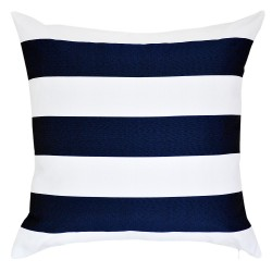 Mallacoota Marine Navy Outdoor Cushion - 45x45cm