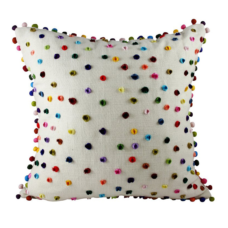 Pom Pom Multi Cushion 45x45cm Hupper