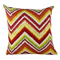 Summer Chevron Cushion - 45x45cm