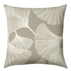 Palmetto Slate Grey Cushion - 45x45cm