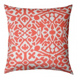 Seville Macon Salmon Cushion - 45x45cm