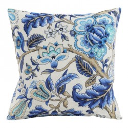 Imperial Dress Azure Cushion - 45x45cm