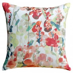 Ingrid Floral Terracotta Cushion - 50x50cm