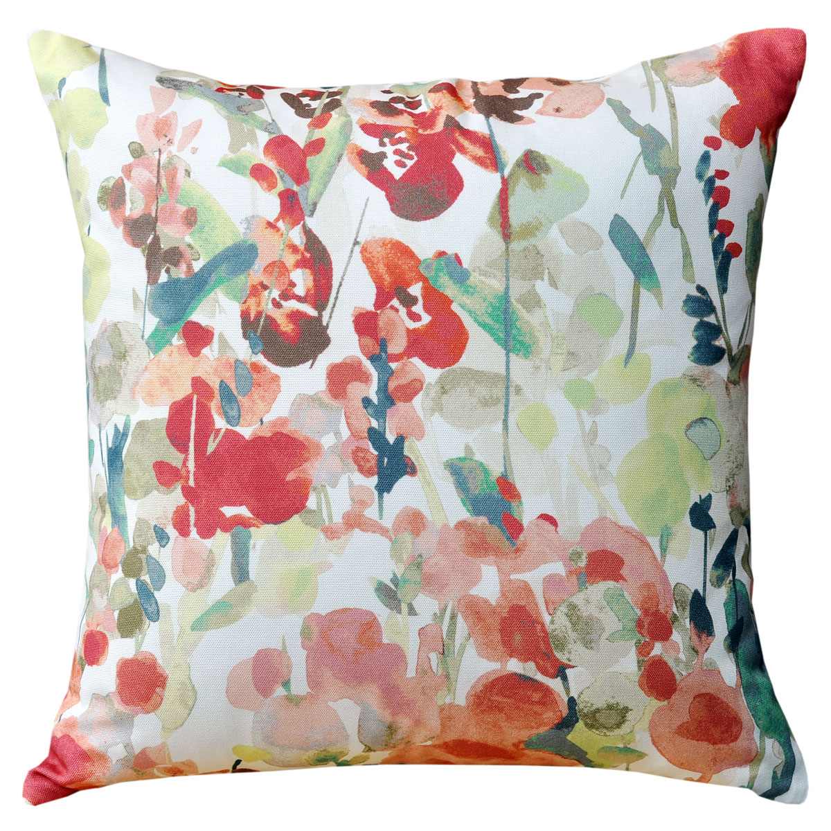 Ingrid Floral Terracotta Cushion - 45x45cm