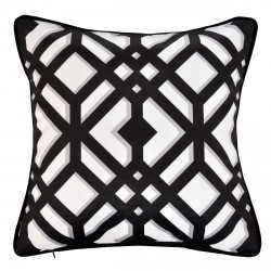 Dylan Platinum Cushion 45x45cm