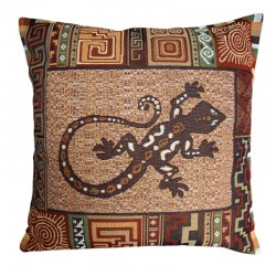 Salamander Tapestry Cushion - 50x50cm