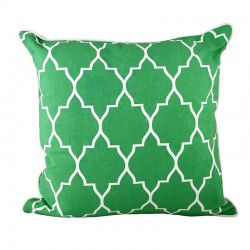Zanzibar New Green Cushion - 45x45cm