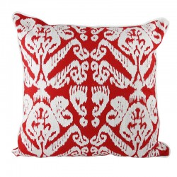 Caravan Red Cushion - 45x45cm