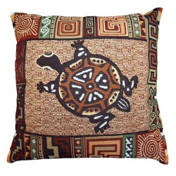 Turtle Tapestry Cushion - 50x50cm