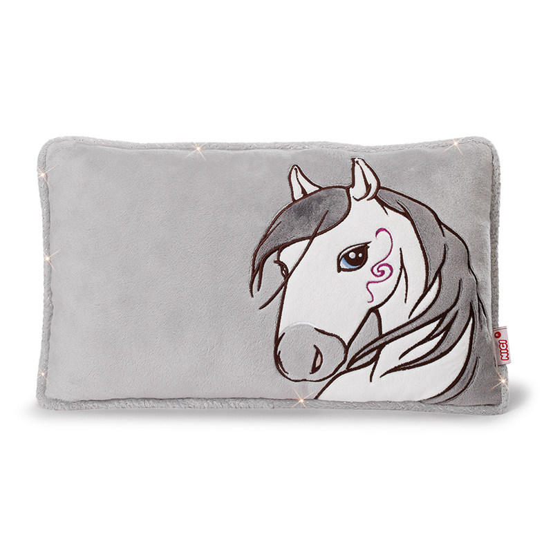 NICI Horse Miracle Cushion 43x25cm