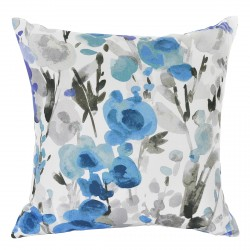 Ingrid Floral Indigo Cushion - 50x50cm