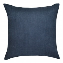 European Linen Navy Cushion - 45x45cm