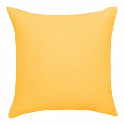 European Linen Lemon Cushion - 45x45cm