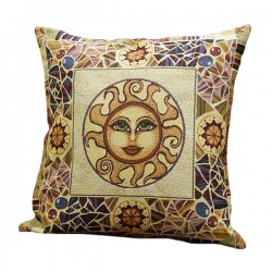 Sun Tapestry Cushion 50x50cm