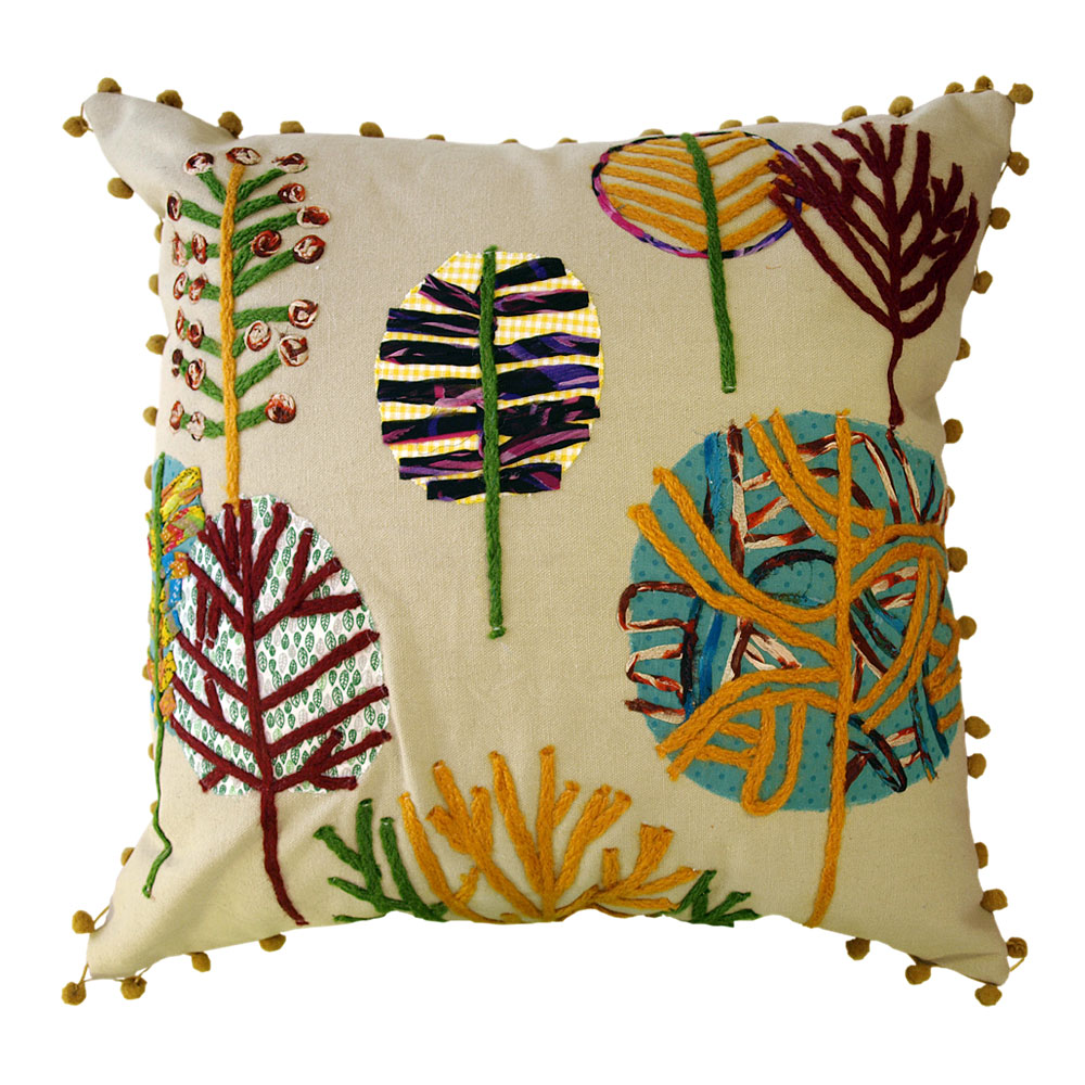 Winter Trees Cushion - 45x45cm