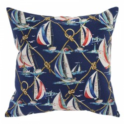 On Sail Nautical Cushion - 45x45cm
