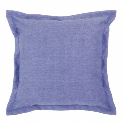 Vegas Bluebell Cushion with Flange - 45x45cm