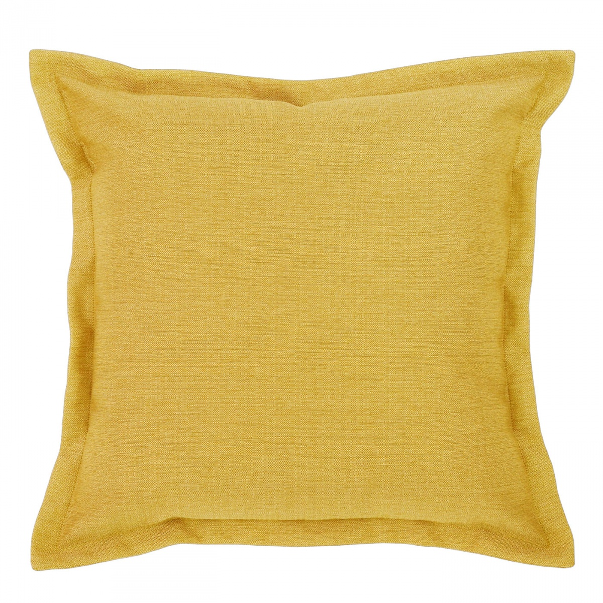 Vegas Buttercup Cushion with Flange - 45x45cm