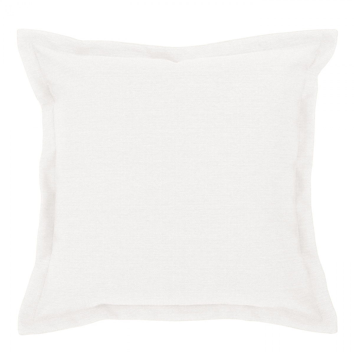 Vegas Ivory Cushion with Flange - 45x45cm