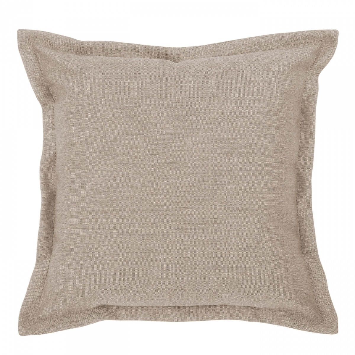 Vegas Mink Cushion with Flange - 45x45cm
