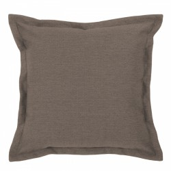 Vegas Mocha Cushion with Flange - 45x45cm