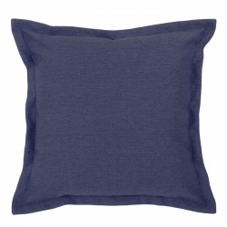 Vegas Navy Cushion with Flange - 45x45cm
