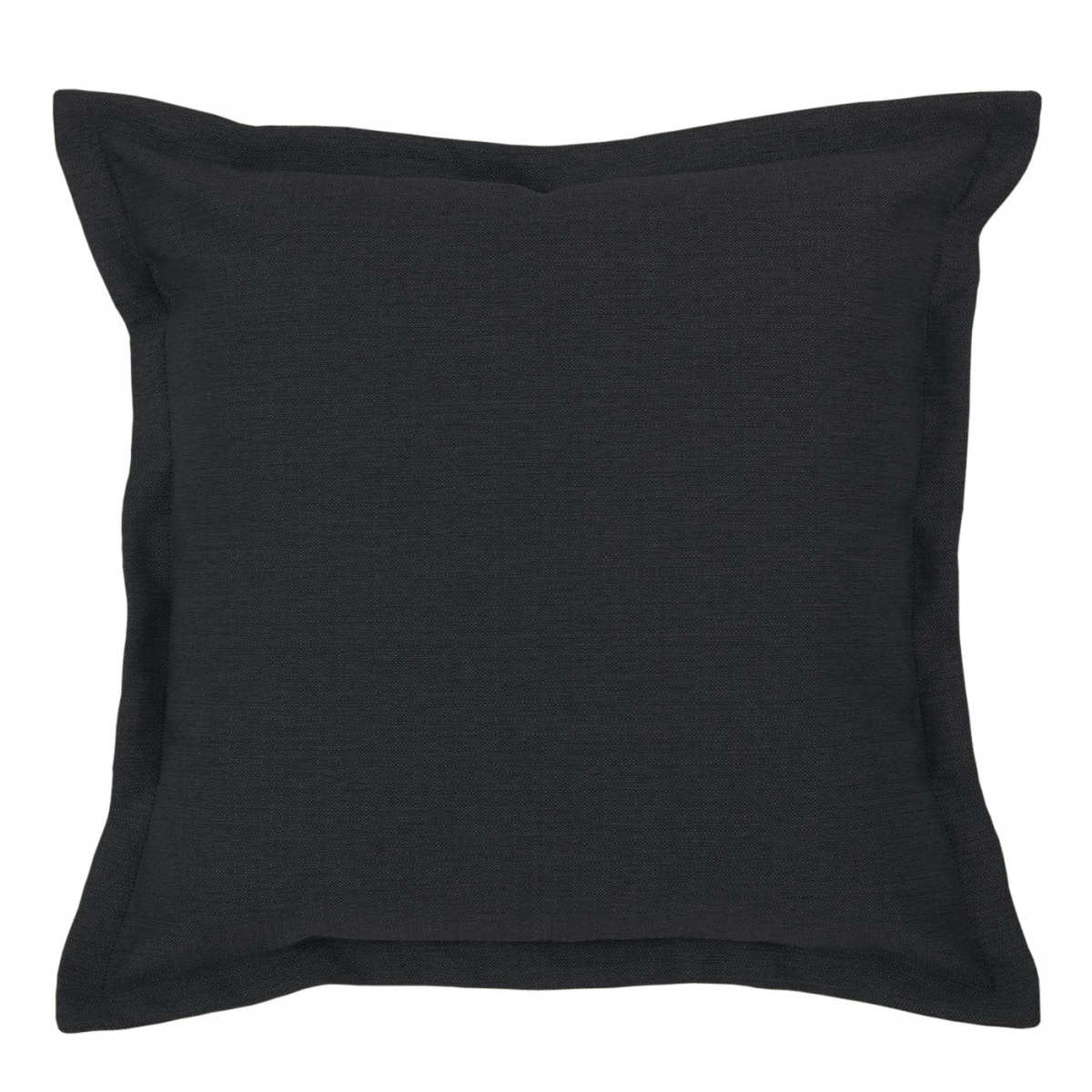 Vegas Nero Cushion with Flange - 45x45cm