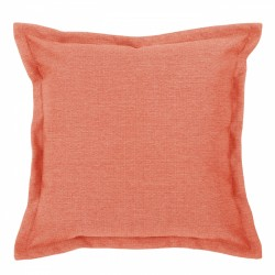Vegas Terracotta Cushion with Flange - 45x45cm