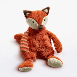 Rust Plush Fox 18cm