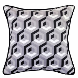 Floyd Platinum Cushion - 45x45cm