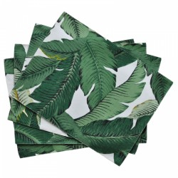 Palms Aloe Placemat Set of 4 - 44x33cm