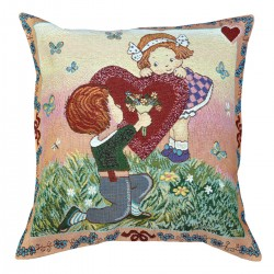 I Love You Tapestry Cushion - 50x50cm