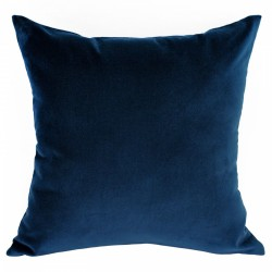 Velvet Navy Cushion - 45x45cm