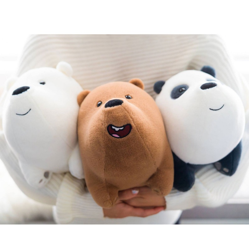 We Bare Bears Ice Bear 30cm Hupper