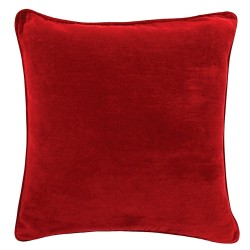 The Velvet Red Cushion - 45x45cm