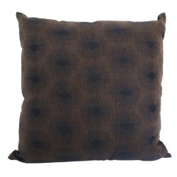 Damask Chocolate Cushion - 45x45cm