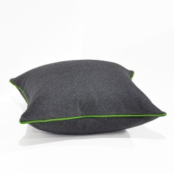 Augustus Armour/Lime Floor Cushion - 60x60cm