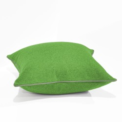 Augustus Lime/Wolf Floor Cushion - 60x60cm
